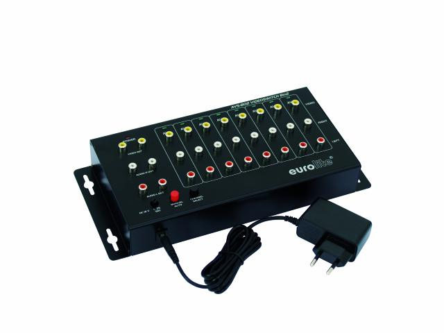 Image of   Eurolite AVS-802, Video switch 8in2