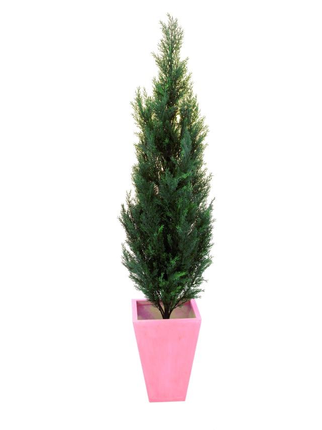 Kunstig Cypress, 140cm