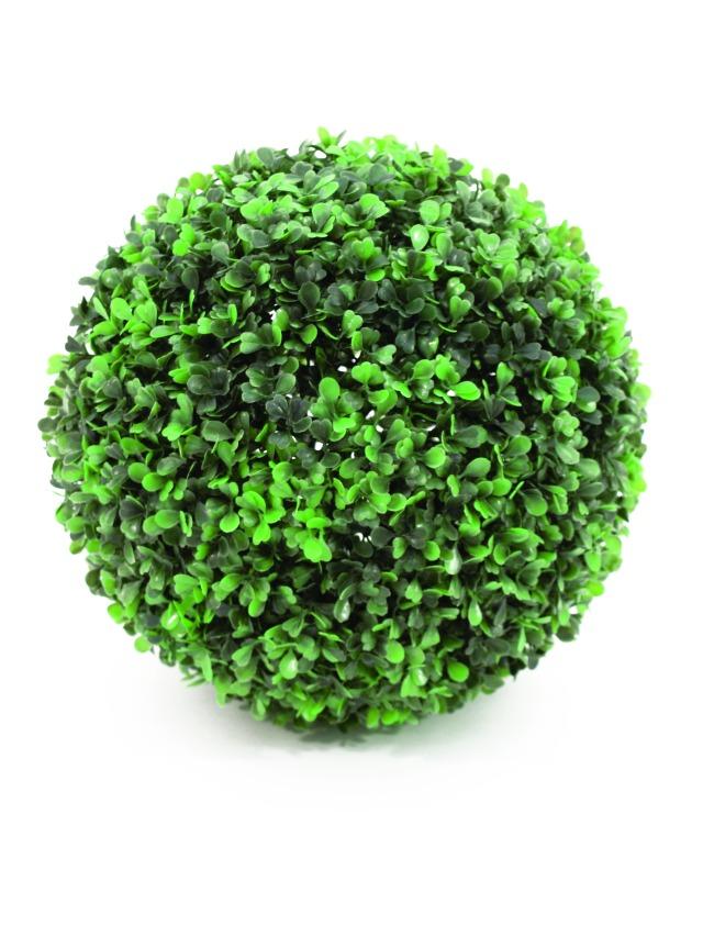 Kunstig Boxwood ball, ~25cm