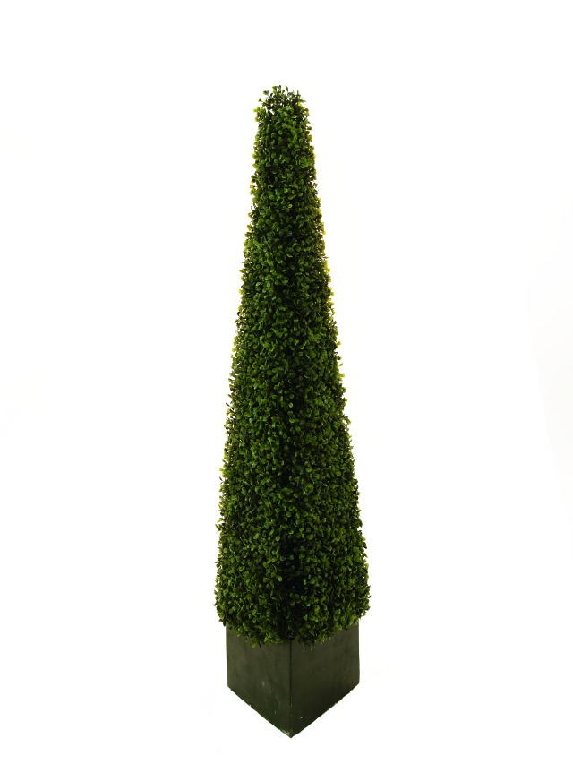 Image of   Kunstig Boxwood pyramid, 136cm