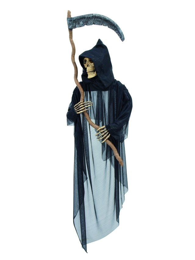 Image of   Halloween manden med leen, 150 cm