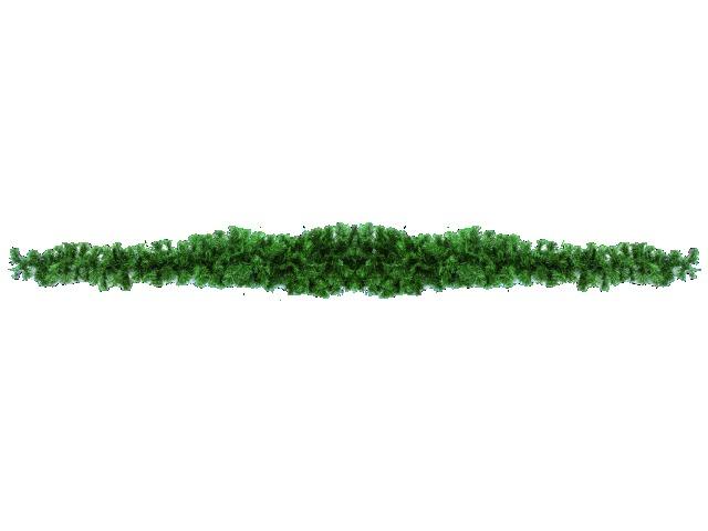 Noble pine garland, 270cm