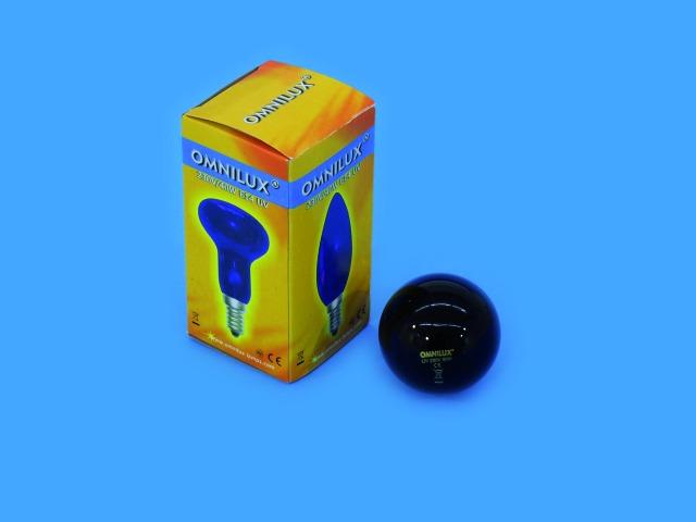 Image of   Omnilux G45 230V/40W E-14 UV pære