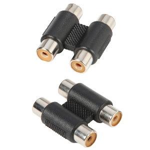 Image of   Adapter Audio Stik 2 x RCA Phono Hun til 2 x RCA Phono Hun