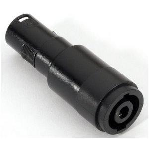 Image of   Adapter Audio Stik Speakon 4-polet Chassis til XLR Han