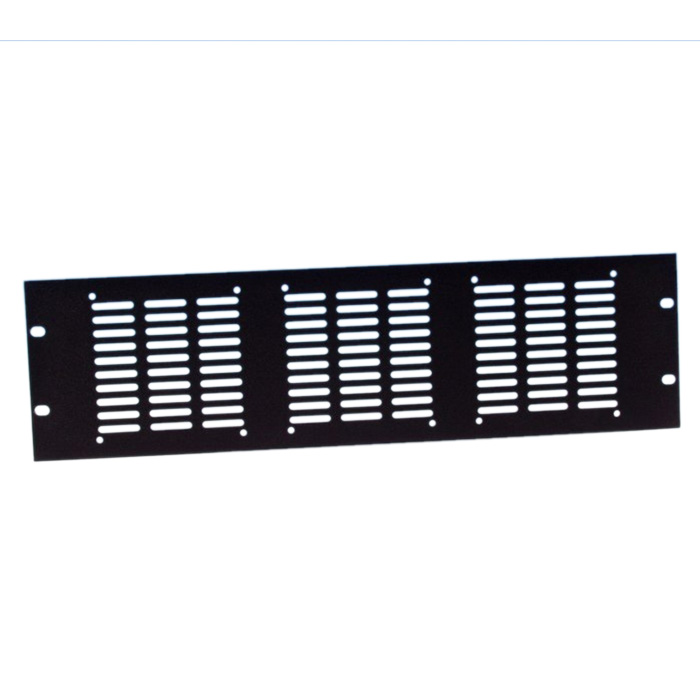 "Image of   19"" Rack Panel udstandset for 3 blæsere"