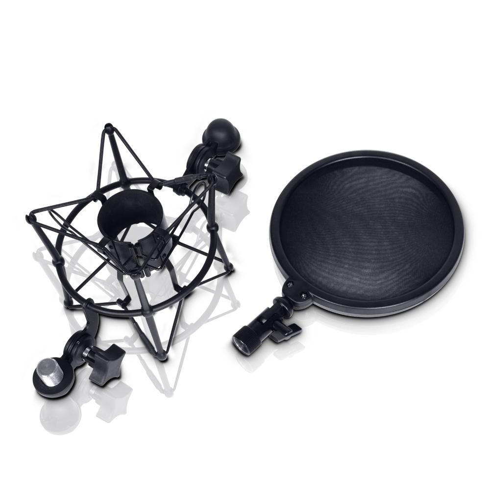 Image of   LD Systems DSM 400 Mikrofon Shock Mount med Pop Filter