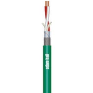 Signal Mikrofon Kabel 2 x 0.22 mm² Gul