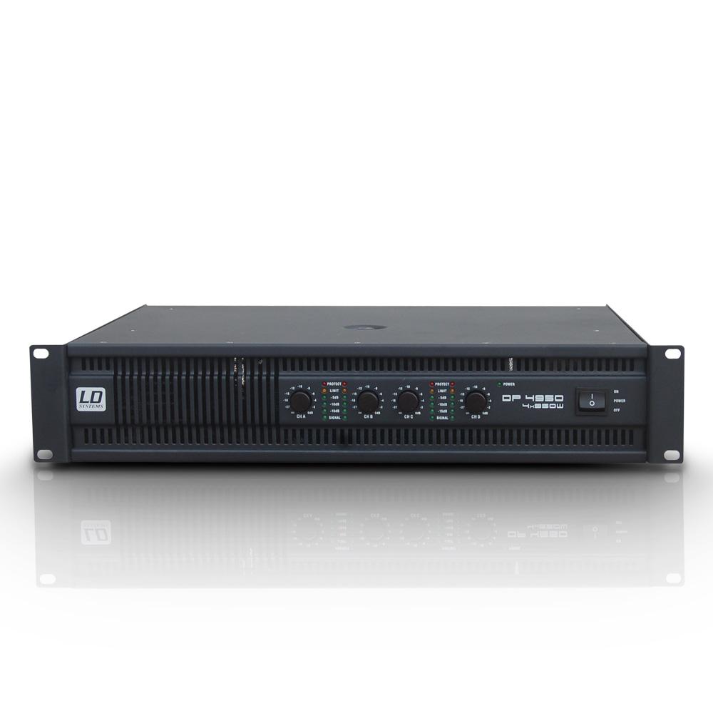 Image of   LD Systems DEEP2 4950 Forstærker 4x490W 8 Ohm