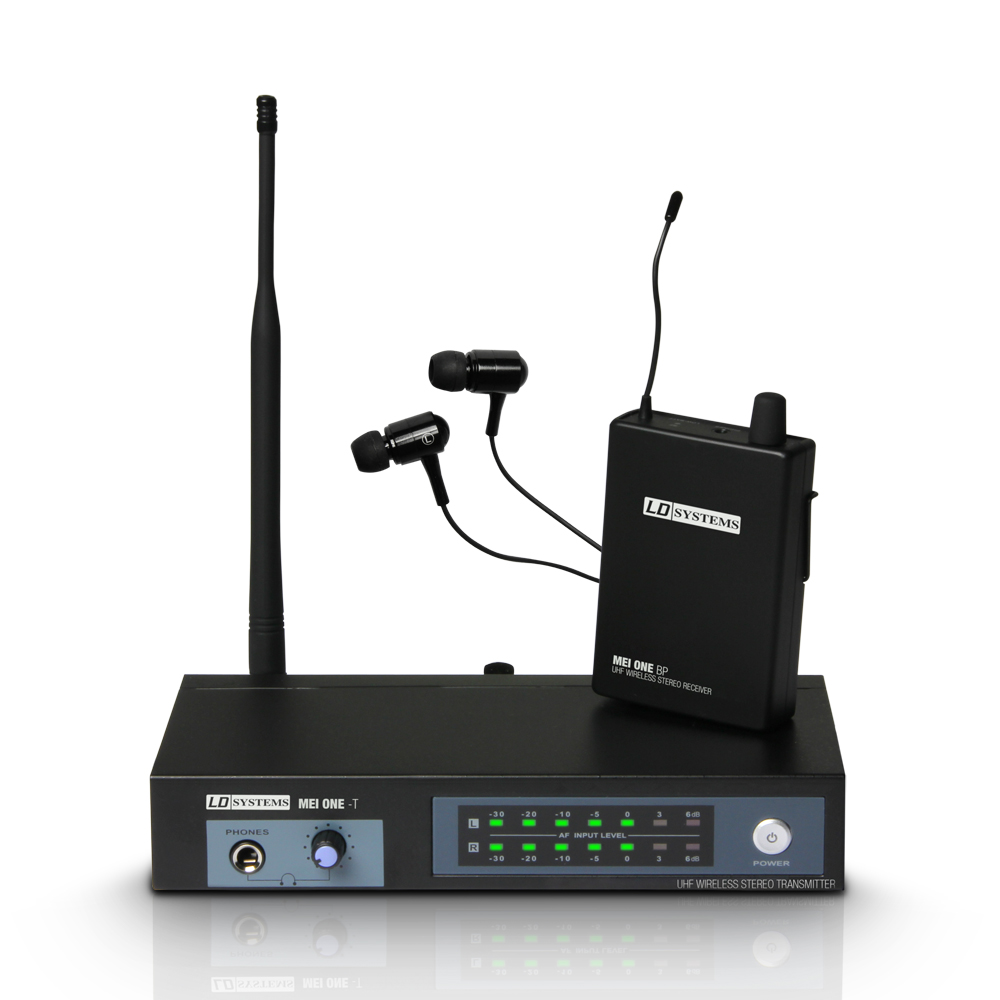 LD Systems MEI ONE Trådløs In-Ear Monitor System ISM2 (864.100 MHz)