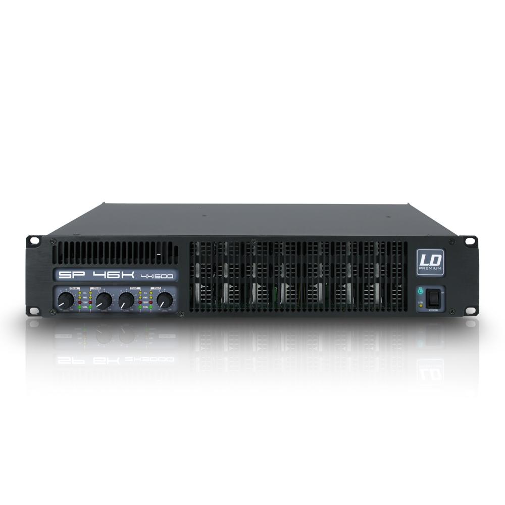 LD Systems SP 46K Forstærker 4 x 620W 8 Ohm