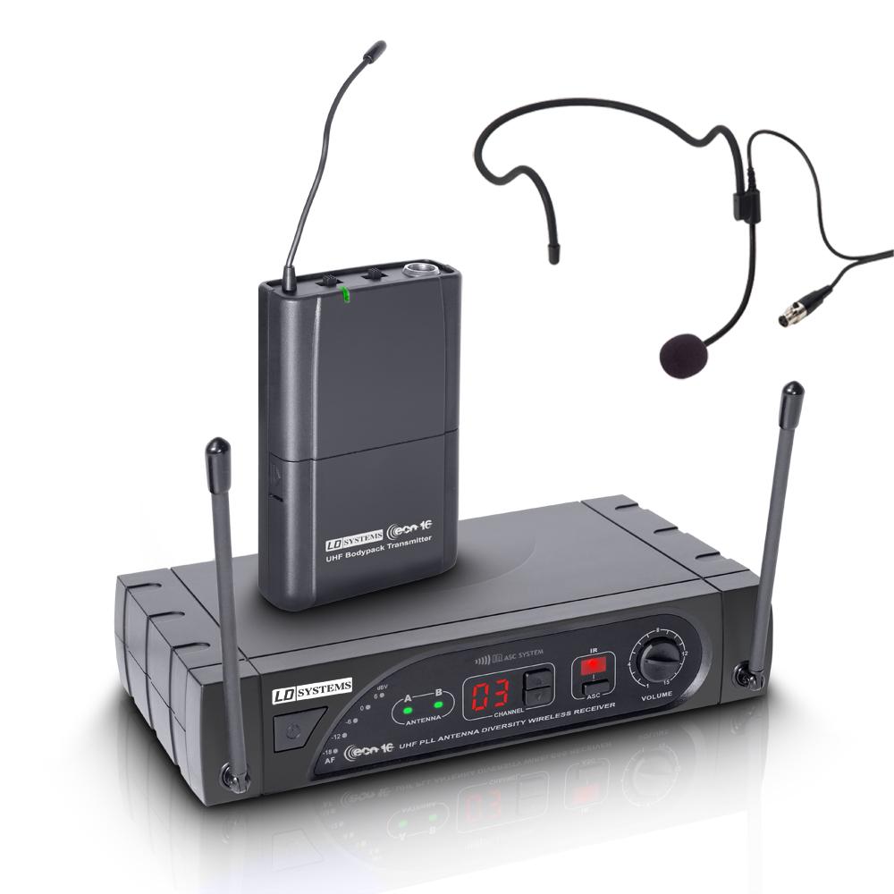 Image of   LD Systems ECO 16 BPH Trådløs mikrofon headset