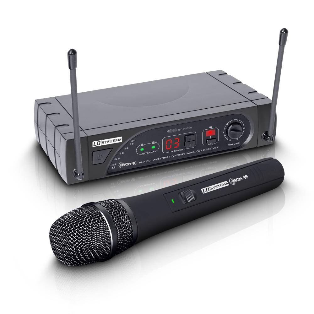 Image of   LD Systems ECO 16 HHD Trådløs mikrofon