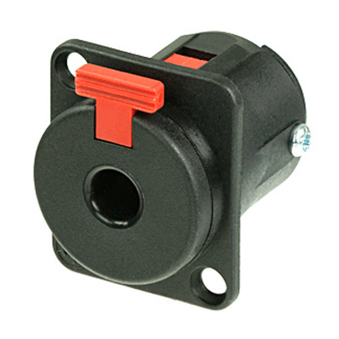 Neutrik Chassis Stik 6.3mm Jack Stereo Hun
