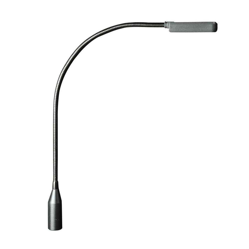 Svanehals Lampe med 4 LED dioder