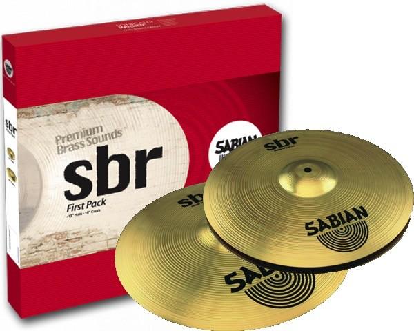 Sabian SBr First Pack Bækkenpakke