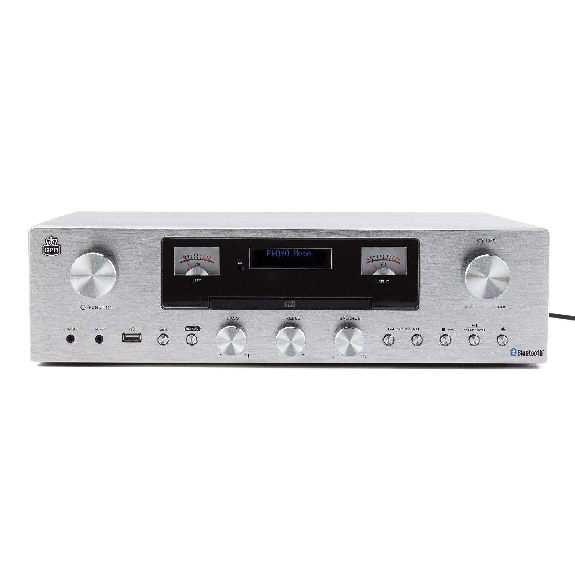 GPO PR200 Receiver - DAB+ radio, USB Bluetooth