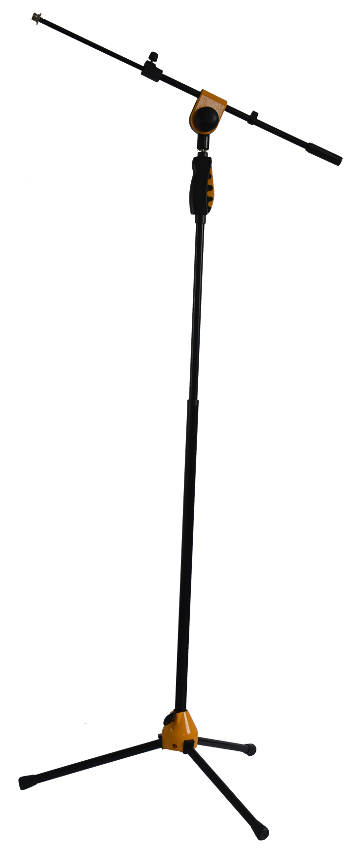 Image of   Ibiza Mikrofon Stativ, Teleskop, 115-170 cm Gul