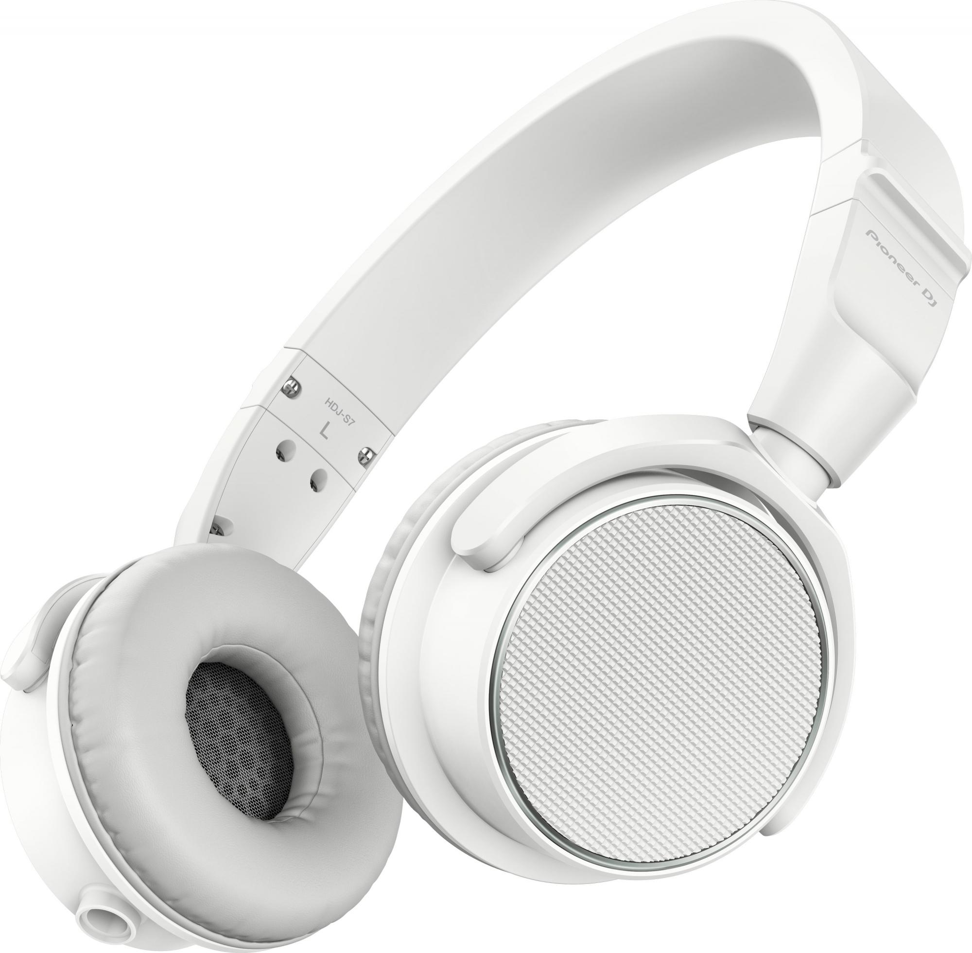 Image of   Pioneer HDJ-S7 DJ hovedtelefon Hvid