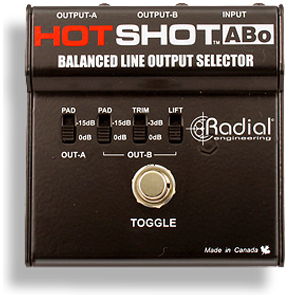 Image of   Radial Hotshot Abo Line Output Selector