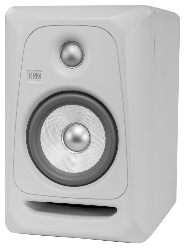 KRK RP5-3 ROKIT aktiv studie højttaler - Hvid/sølv