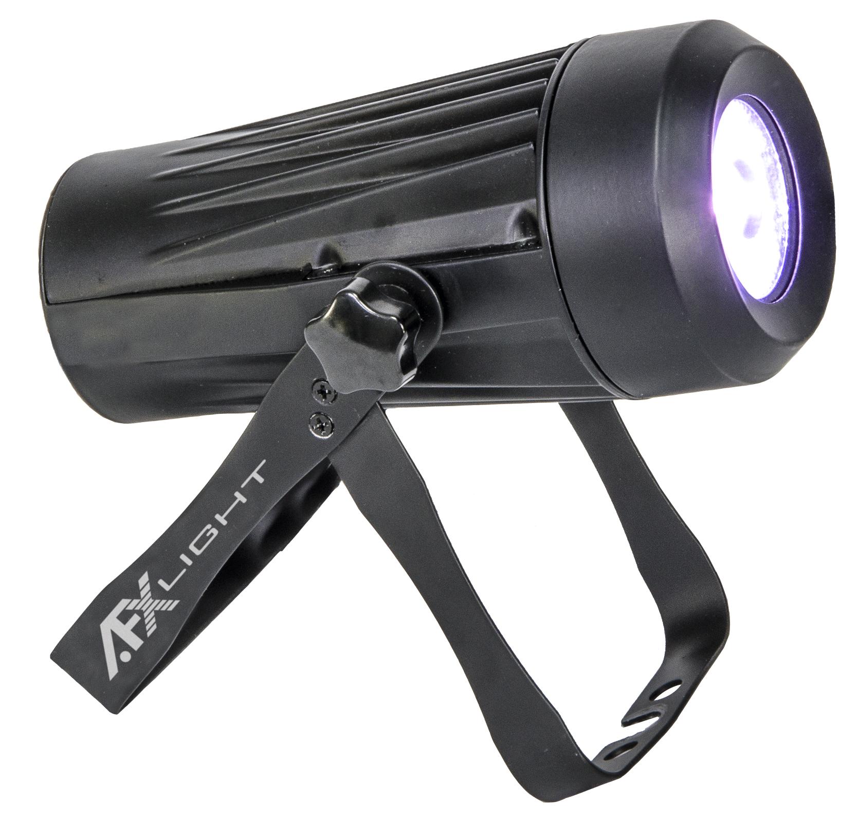 Image of   AFX 15w LED Spot RGBW DMX