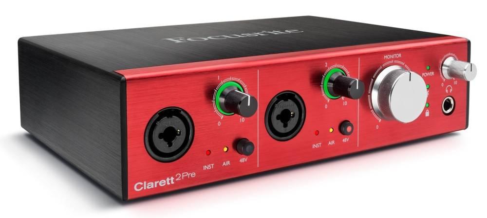 Image of   Focusrite Clarett 2Pre