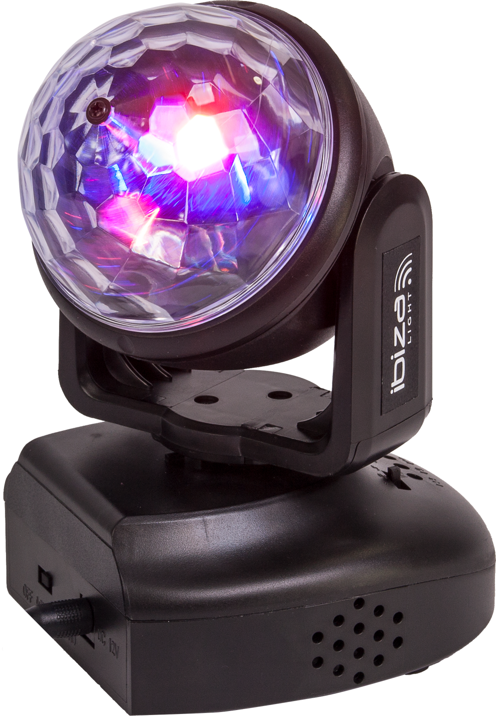 Ibiza Astro Moving Head 6 x 3 Watt