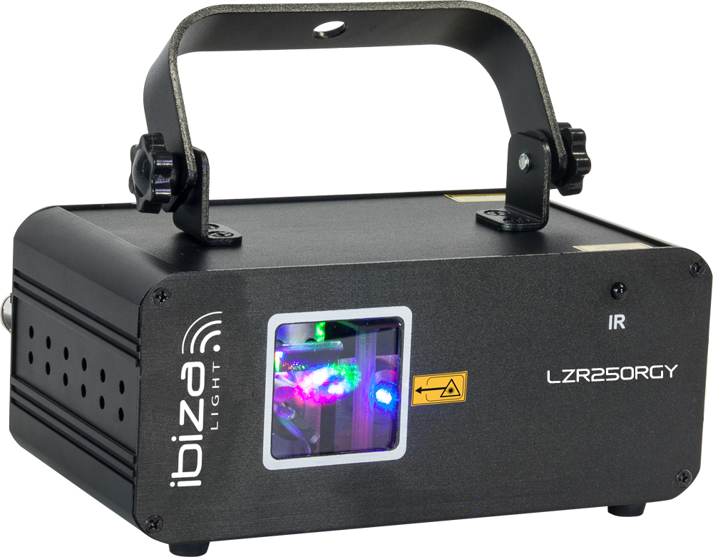 Image of   Ibiza LZR 250 RGY Laser