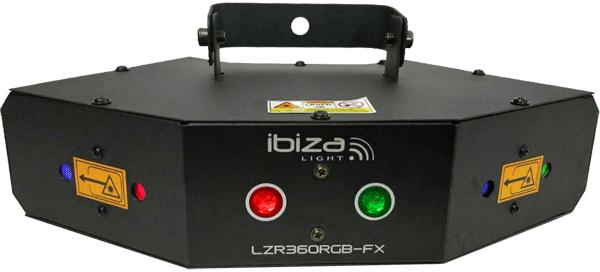 Image of   IBIZA LZR 360 RGB Laser