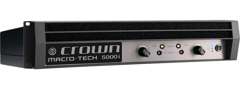 Crown MA5000i Macro-Tech i Forstærker 2 x 1.250 Watt 8 Ohm