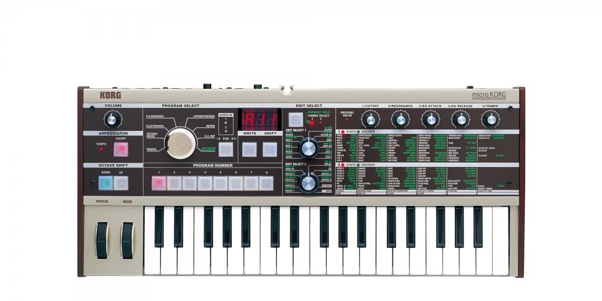 Image of   Korg MicroKorg Synthesizer