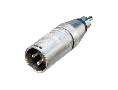 Image of   Neutrik Adapter XLR Han til RCA Phono Han