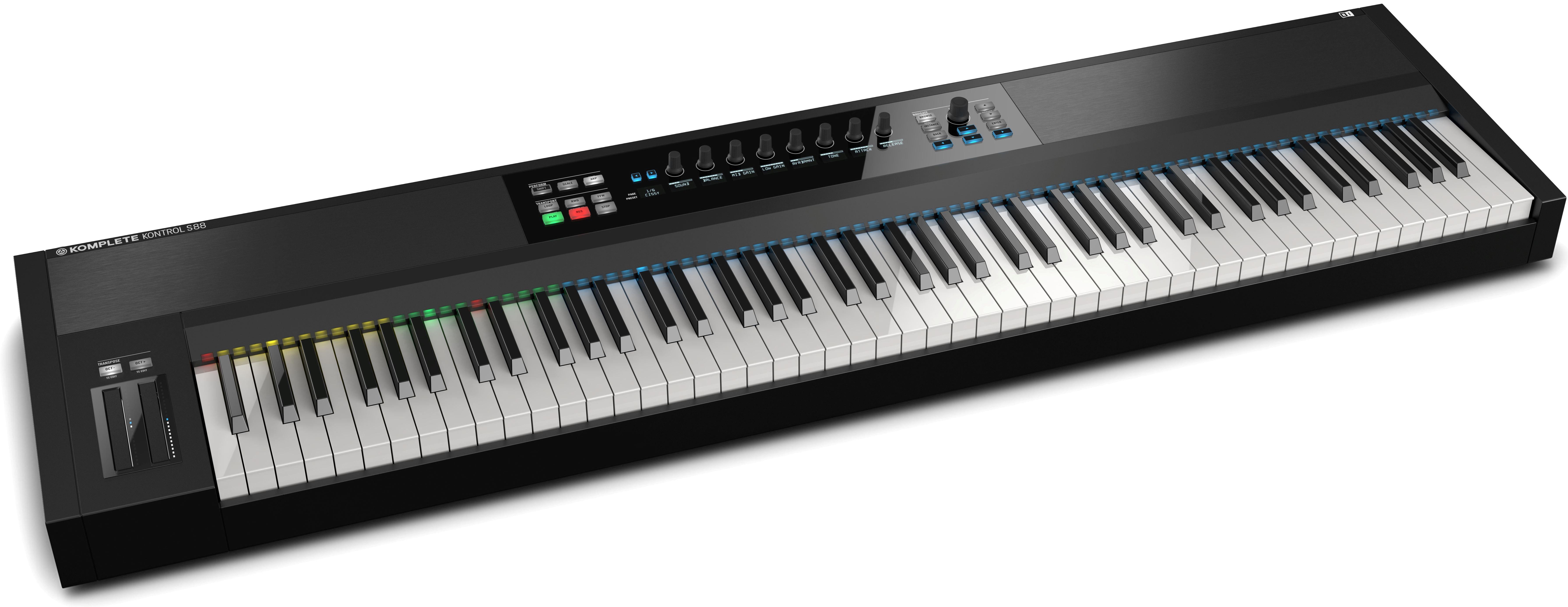Native Instruments S88 MK2 MIDI keyboard
