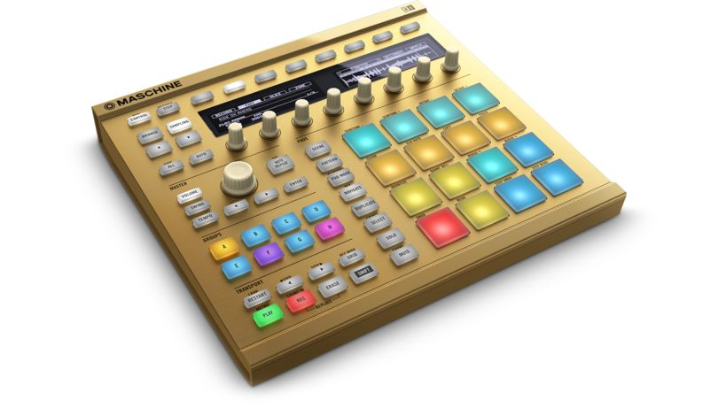Image of   Native Instruments Maschine MK2, Custom Gold LTD