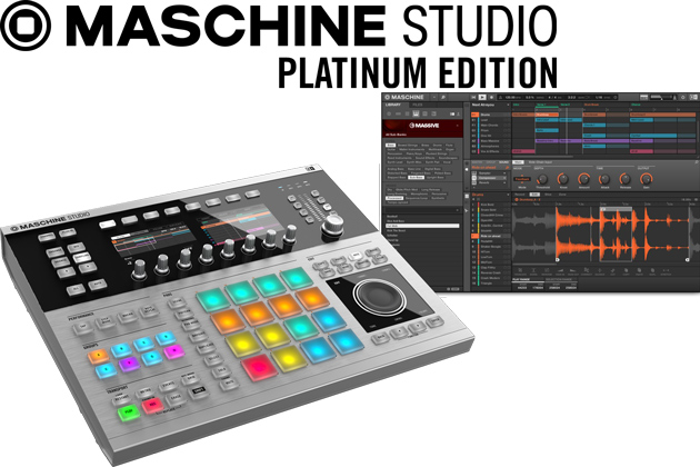 Image of   Native Instruments Maschine Studio, Platinium Edition