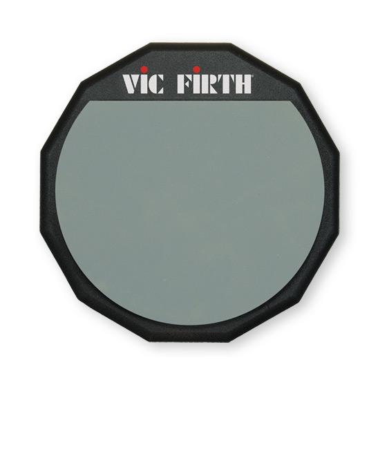 """Vic Firth 12"""" øveplade Enkeltsidet"""