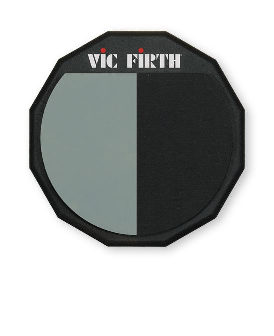"Vic Firth 12"" øveplade Enkeltsidet - dobbelt overflade"