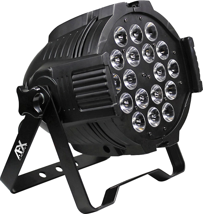 Image of   AFX LED parlampe RGBAW-UV 18x18w