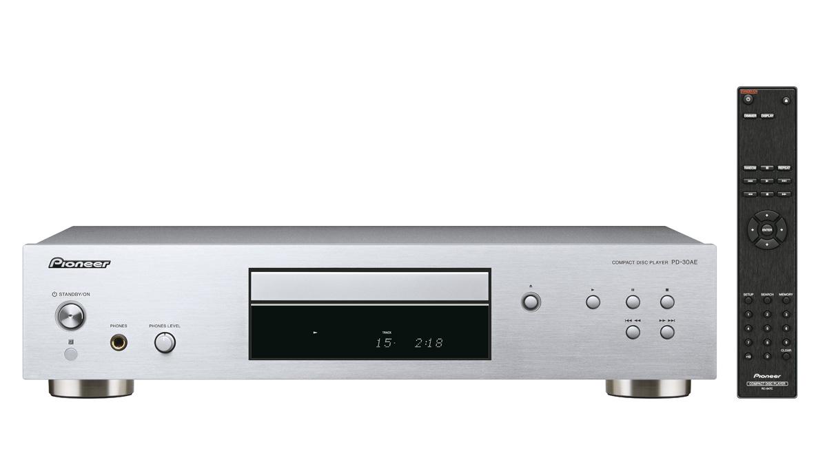 Image of   Pioneer PD-30AE CD afspiller Farve: Sølv