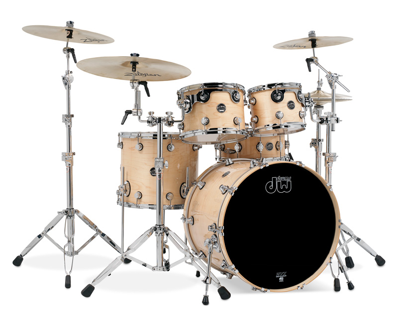 Image of   DW Performance Series Natural Lacquer Trommesæt
