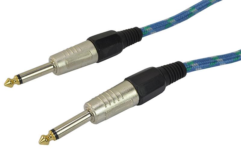 Billede af Cobra, Instrument Kabel 6.3 mm Jack mono til 6.3 mm Jack mono 3 meter