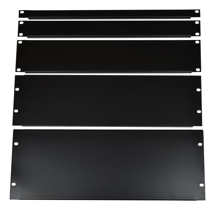"""Billede af 19"""" Sort Rack Panel 0,5 unit"""