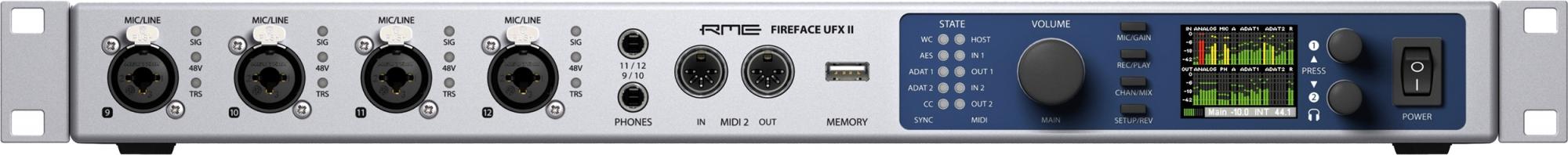 RME Fireface UFX II