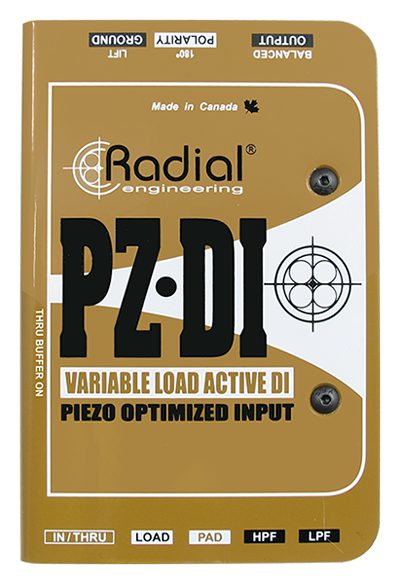 Image of   Radial Pz-Di Orchestral Instrument Di