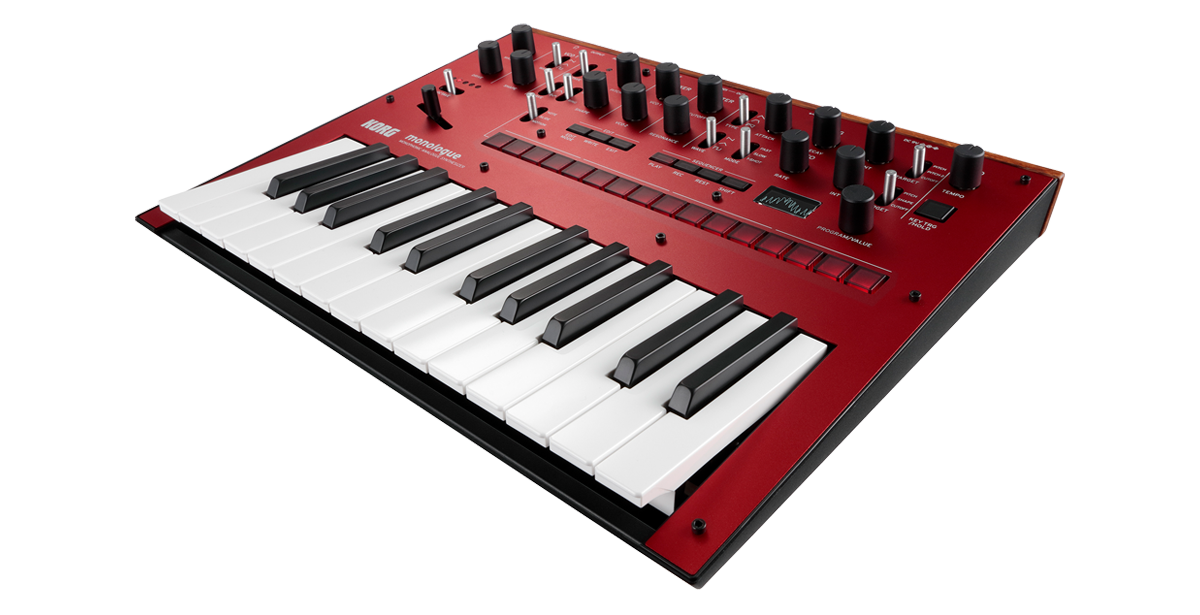 Image of   Korg Monologue Red Synthesizer