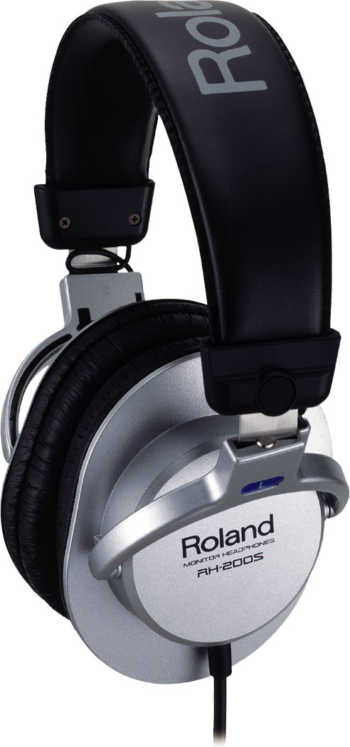 Image of   Roland RH-200 hovedtelefoner Sølv