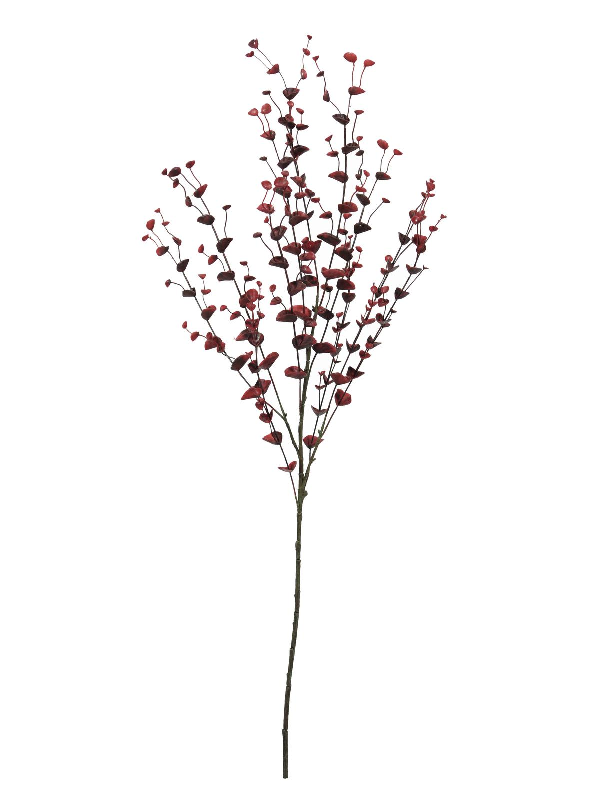Image of   Kunstig Eucalyptus spray, red, 110cm