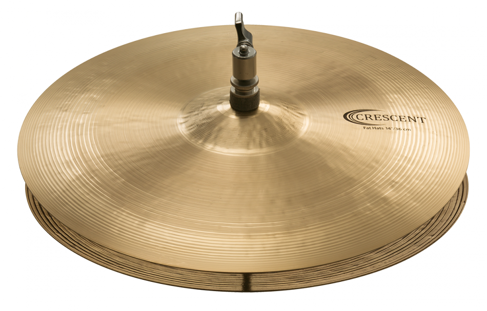 "Image of   Sabian 14"" Crescent Fat Hi-hat"