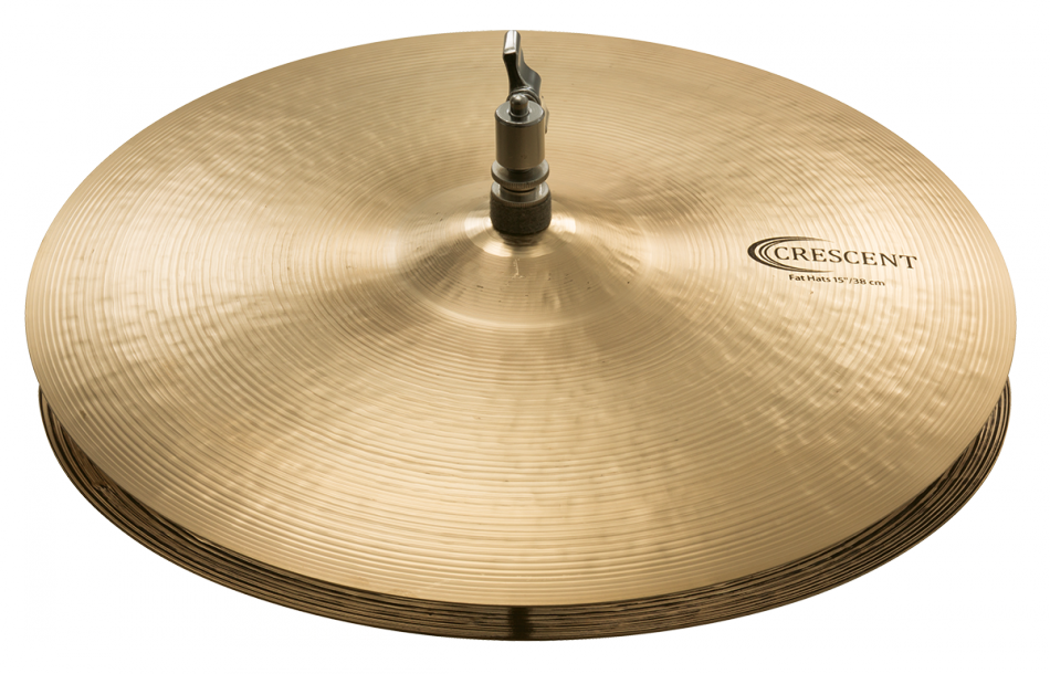 "Image of   Sabian 15"" Crescent Fat Hi-hat"